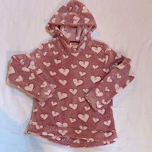Boston Traders fleece hooded top
